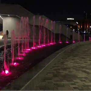 запуск и строительство фонтана