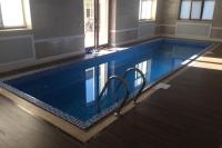 строительство бассейна в коттедже